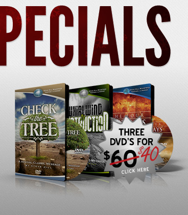 Revival Classics 3 Pack: Check the Tree, Whirlwind of Destruction, & 4 Last Days Revival - $40